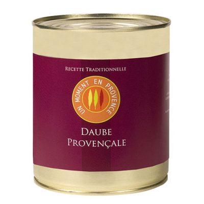 Conserve de daube provencale, boeuf et vin rouge