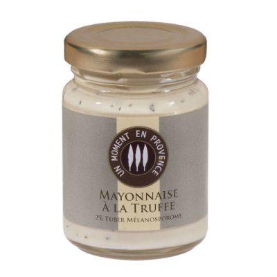 Pot de mayonnaise a la truffe